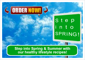 Step into SPRING - Get into healthy eating this Spring!